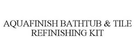 AQUAFINISH BATHTUB & TILE REFINISHING KIT