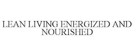LEAN LIVING ENERGIZED AND NOURISHED