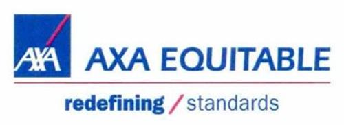 AXA AXA EQUITABLE REDEFINING/STANDARDS