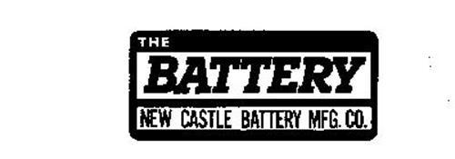 THE BATTERY NEW CASTLE BATTERY MFG. CO.