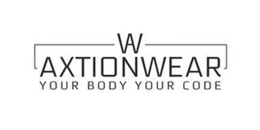 AW AXTIONWEAR YOUR BODY YOUR CODE
