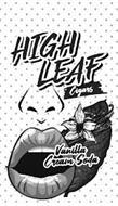 HIGH LEAF CIGARS VANILLA CREAM SODA