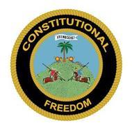 CONSTITUTIONAL FREEDOM EST.MDCCXCI