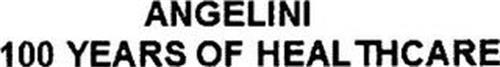 ANGELINI 100 YEARS OF HEALTHCARE