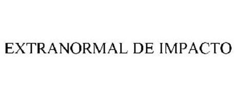 EXTRANORMAL DE IMPACTO