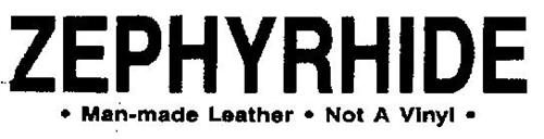 ZEPHYRHIDE-MAN-MADE LEATHER-NOT A VINYL