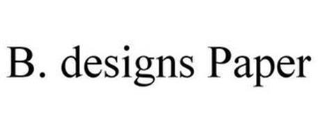 B. DESIGNS PAPER