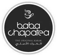 BABA CHAPATEA THE ORIGINAL KARAK