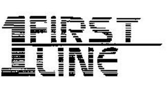 1 FIRST LINE