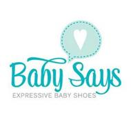 BABY SAYS EXPRESSIVE BABY SHOES