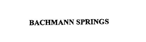 BACHMANN SPRINGS