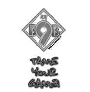 B9B BACK 9 BEVERAGE LLC TAME YOUR GAME!