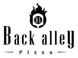 BA BACK ALLEY PIZZA