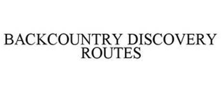 BACKCOUNTRY DISCOVERY ROUTES