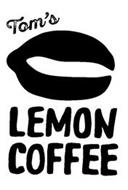 TOM'S LEMON COFFEE