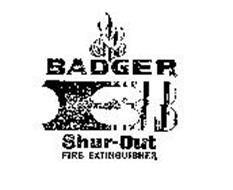 """B BADGER """"AUTOMATIC"""" SHUR-OUT FIRE EXTINGUISHER"""