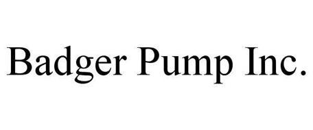 BADGER PUMP