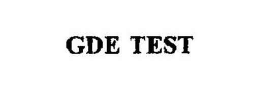 GDE TEST