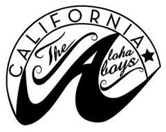 CALIFORNIA THE ALOHA BOYS