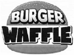 BURGER WAFFLE