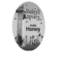 BAILEY'S APIARY LLC PURE HONEY