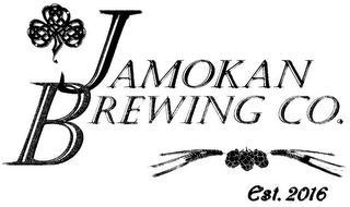 JAMOKAN BREWING CO. EST. 2016