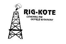 RIG-KOTE COVERING THE OILFIELD WITH PAINT