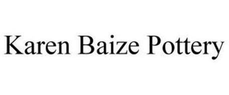 KAREN BAIZE POTTERY