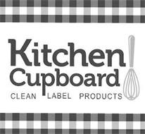 KITCHEN CUPBOARD CLEAN LABEL PRODUCTS