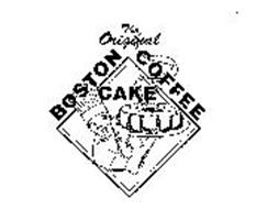 THE ORIGINAL BOSTON COFFEE CAKE