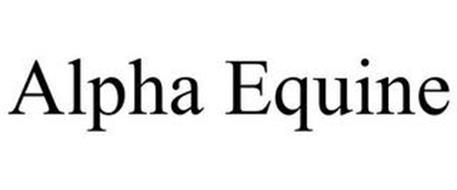 ALPHA EQUINE