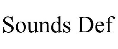 SOUNDS DEF