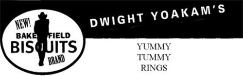 NEW! BAKERSFIELD BISCUITS BRAND DWIGHT YOAKAM'S YUMMY TUMMY RINGS