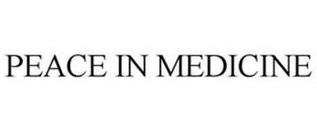 PEACE IN MEDICINE