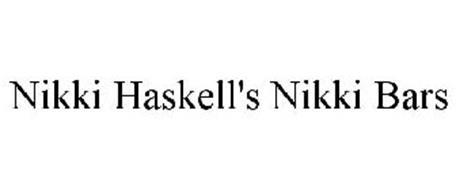 NIKKI HASKELL'S NIKKI BARS