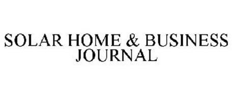 SOLAR HOME & BUSINESS JOURNAL