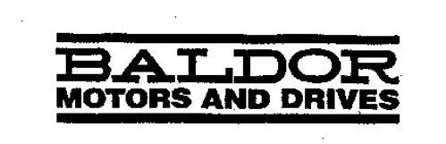 baldor motors and drives trademark of baldor electric