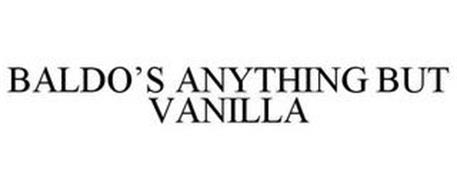 BALDO'S ANYTHING BUT VANILLA