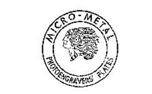 MICRO METAL PHOTOENGRAVERS' PLATES