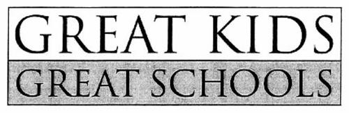 GREAT KIDS GREAT SCHOOLS Trademark of Baltimore City Board of School ...