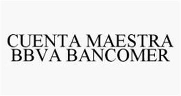 CUENTA MAESTRA BBVA BANCOMER