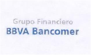 GRUPO FINANCIERO BBVA BANCOMER