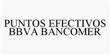 PUNTOS EFECTIVOS BBVA BANCOMER