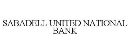 SABADELL UNITED NATIONAL BANK
