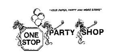 """ONE STOP PARTY SHOP """"YOUR PAPER, PARTY AND MORE STORE"""""""