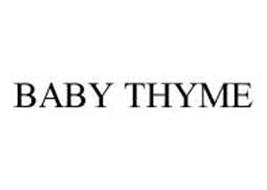 BABY THYME