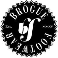 BF BROGUE FOOTWEAR EST. MMXV