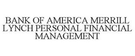 BANK OF AMERICA MERRILL LYNCH PERSONAL FINANCIAL MANAGEMENT