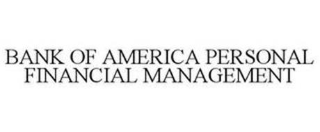 BANK OF AMERICA PERSONAL FINANCIAL MANAGEMENT