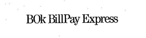 BOK BILLPAY EXPRESS